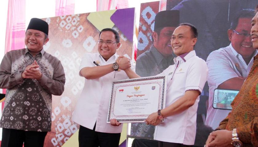 Kantor dan Pelayanan Disdukcapil Muba Terbaik Se-Indonesia, Ini Pesan Dirjen