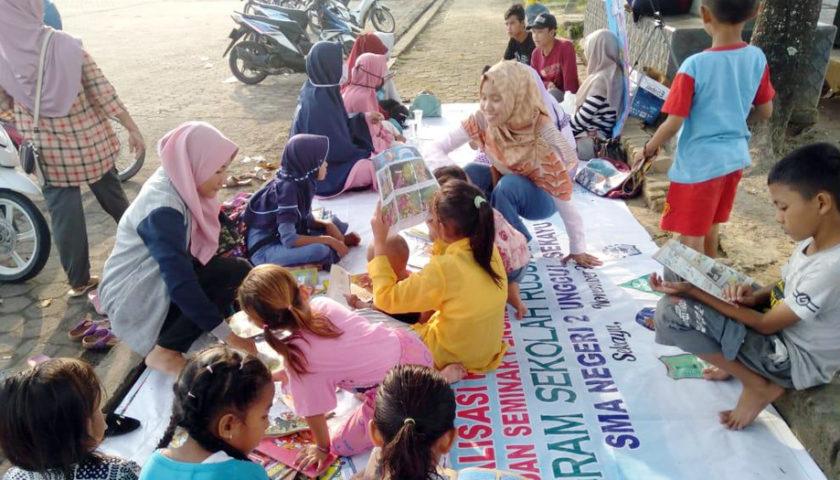 Tingkatkan Minat Baca Sampai Kepelosok Desa