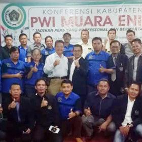 Siswanto Pimpin PWI Kabupaten Muaraenim