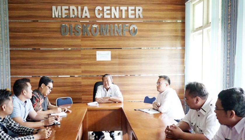 Dinas Kominfo Bengkulu Selatan Kunker ke Pagar Alam