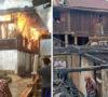Rumah di Semende Darat Hangus Terbakar Api
