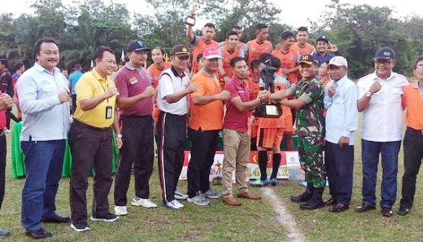 Regintan FC Juara Piala Danyonif 141 AYJP