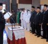 Wakil Walikota Prabumulih Lantik Pejabat Eselon III dan IV