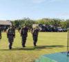 Batalyon Kavaleri-5/DPC Karang Endah Gelar Apel Kesiapan Pengamanan Pileg dan Pilpres