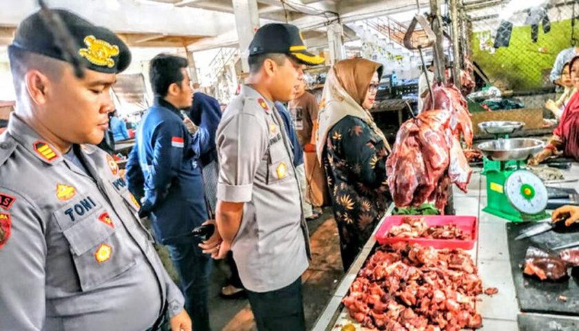 Bulan Ramadhan, Polres Sidak Pasar Muaraenim