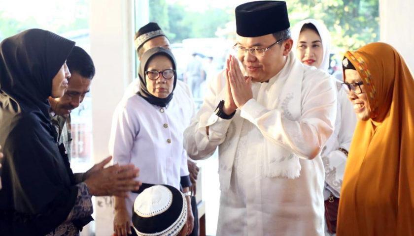 Safari Ramadhan, Dodi Reza Launching Perda Zakat
