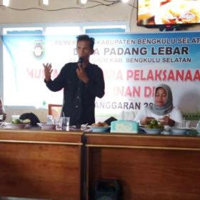 Padang Lebar Mulai Laksanakan Kegiatan Fisik