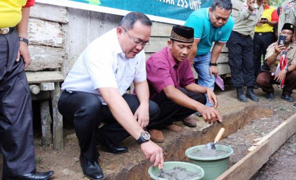 2019, Pemkab Muba Kuncurkan 255 Bantuan Bedah Rumah Khusus Warga Miskin