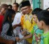 Peduli Sesama, MKGR dan AMIR Muba Bagi 450 Paket Sembako