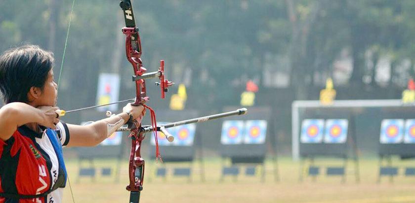 Wakili Indonesia, Kupek Shinta Ikuti Kejuaraan Panahan Olimpiade Militer di Tiongkok