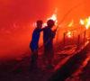 Kembali di Muaraenim Kebakaran, Pabrik Kerupuk Ludes