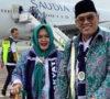 Bupati Berangkat Haji Bersama Jamaah Asal Muaraenim