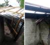 Puluhan Rumah Desa Karang Endah Porak Poranda Diterjang Angin Putting Beliung