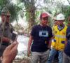 Dinas PUPR dan DLH Berjibaku Tutup Semburan Lumpur di Kaliberau
