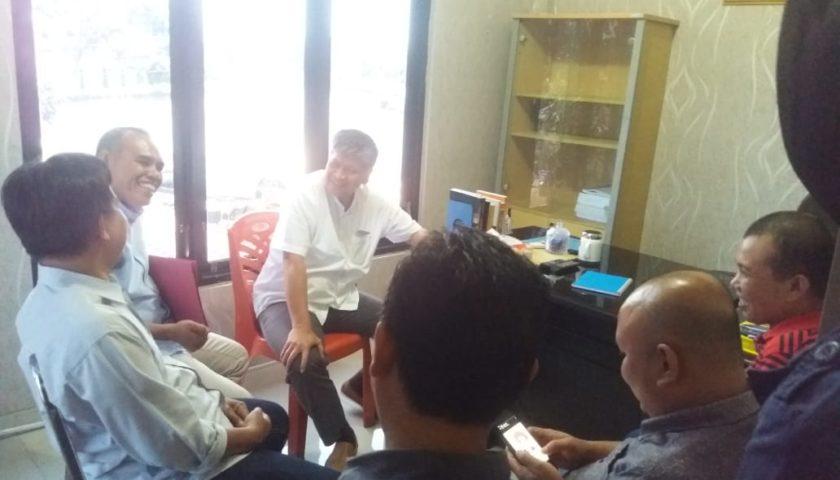 Diduga ULP Kongkalikong Dengan Rekanan, Gapeksindo Datangi Tipikor Polres
