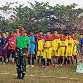 Dandim Cup U-17 Resmi Ditutup