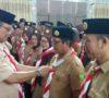 Rusdi Khairullah Lantik Kepengurusan Saka Bakti Husada Ranting Puskesmas