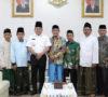 Sambangi Muba, Pengurus NU Sumsel Beri Dodi Reza Songkok Tinggi