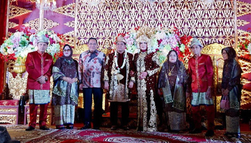 Dodi Hadiri Tasyakuran Pernikahan Bupati Banyuasin