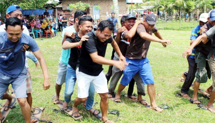 Memeriahkan HUT RI Ke 74, Desa Tanjung Raman Gelar Lomba
