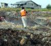 Satgas Kahutla TNI,POLRI,BPBD Mangala Agni Muba Bahu Membahu Padamkan Sisa Api