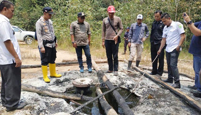 Cegah Illegal Drilling, Kecamatan Sungai Keruh Data Sumur Tua Bersama PT Pertamina