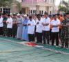 Dilanda Kemarau Panjang, Shalat Istisqa dilakukan Pemkab dan Polres Muba