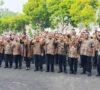 ASN dan Pegawai Kompak Pakai Gambo Muba