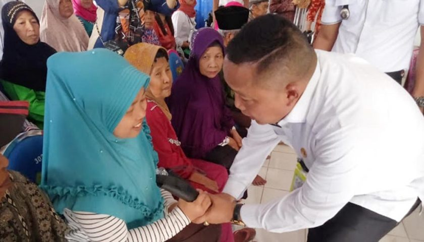 Dinsos Muba Kembali Sebar Alat Bantu Penyandang Disabilitas