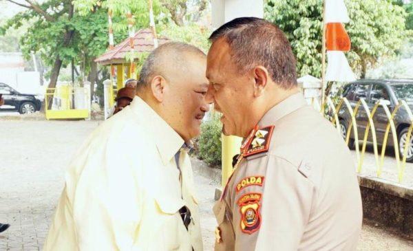 Silaturahmi ke Partai Golkar, Alex Sambut Kedatangan Kapolda Sumsel