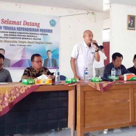 Bulan Depan, Pemkab Bengkulu Selatan Tambah Gaji Guru Honorer