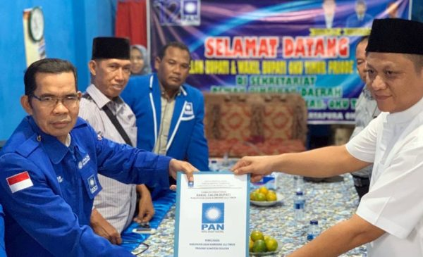 Enos Adik Kandung Gubernur Sumsel Siap Bertarung Pilkada OKUT