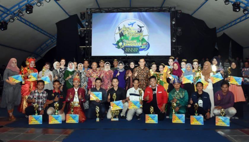 Pesta Kembang Api Tutup Festival Gendang Melayu 2019, Wali Band Hibur Warga Lubuklinggau