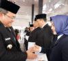 Tingkatkan Kapasitas Karier Pegawai dan Pelayanan Publik Bupati Muba Lantik 213 Pejabat