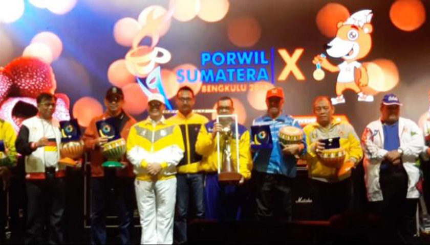 Porwil X Sumatera 2019 Resmi Ditutup