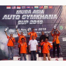 Muba Asia Auto Gymkhana Cup 2019, Fariz dan Ridwan Tumenggung Raih Juara Executive Class