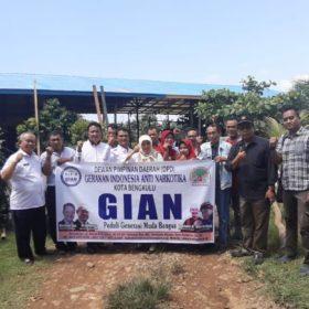 Serahkan SK DPP, GIAN BENGKULU Semakin Bergema