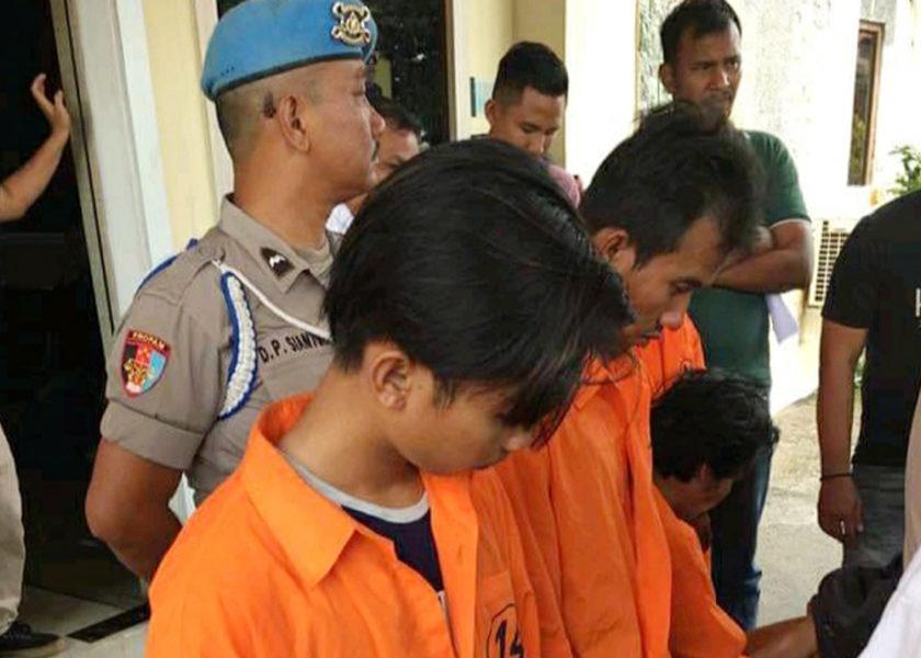Harun dan Budi Ditangkap Tim Jatanras Polres Asahan