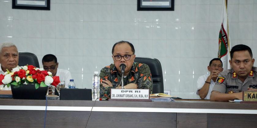 Dr Junimart Kunjungan Kerja ke Kabupaten Asahan