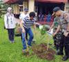 Polri Peduli Penghijauan, Sesda dan Kapolres BS Tanam Pohon