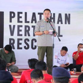 Siaga Bencana, Pemkab Muba Gelar Latihan Vertical Rescue FPTI Sumsel