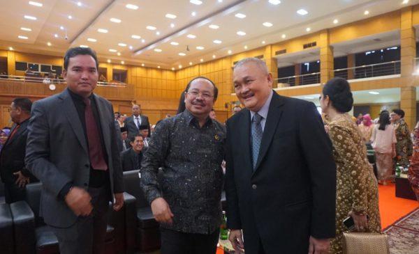 Sidang Promosi Doktor Dodi Reza Alex Dihadiri Ketua Ombudsman, FKPD, DPRD Muba