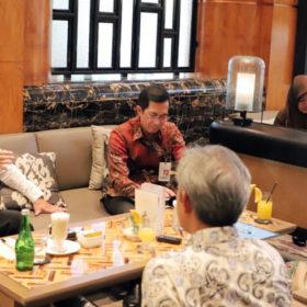 Dodi Reza Diminta Masukan Terkait Rencana Perubahan Sistem UUS Bank Sumsel Babel