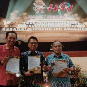 Tiga Wartawan Sumsel Terima Penghargaan PCNO