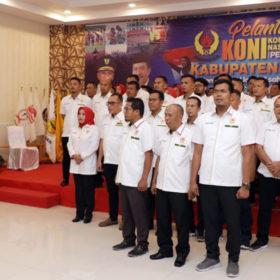 Kepengurusan Koni Periode 2019-2023 Dilantik