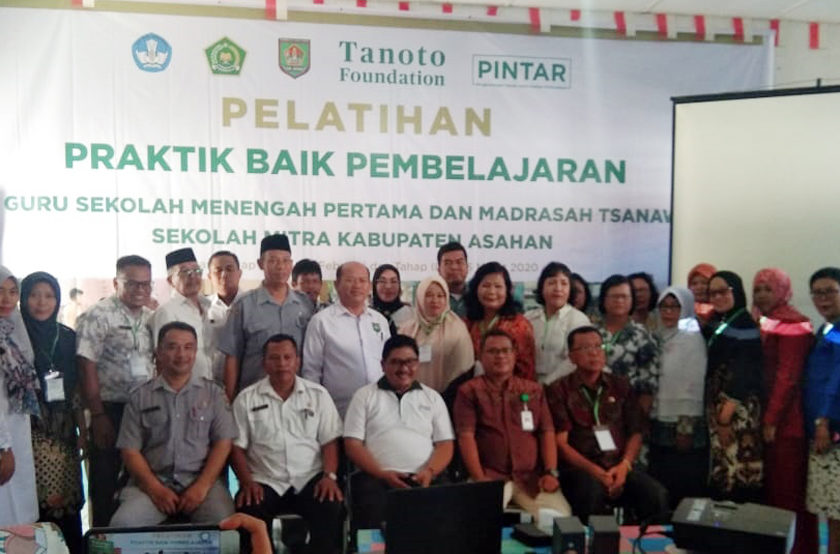 Tanoto Foundation Gelar Pelatihan Praktik Pembelajaran Guru SMP dan Madrasah Tsanawiyah