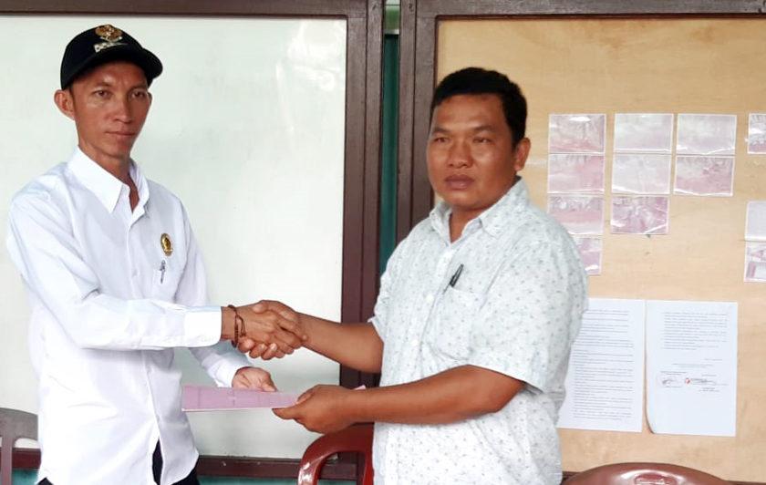 Rahmad Rafelan Resmi Jabat Pjs Kades Kembang Ayun