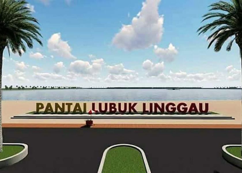 Progres Danau dan Pantai Buatan Jalan Terus