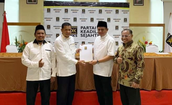 Pilkada OKUT 2020, PKS Resmi Dukung Enos-Yudha