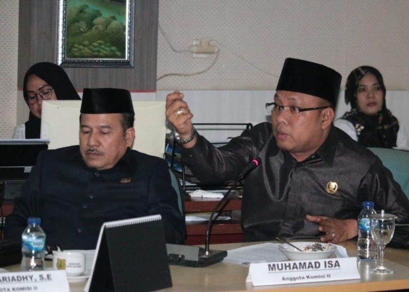 DPRD Muba Tindaklanjuti Permasalahan Desa Pulai Gading
